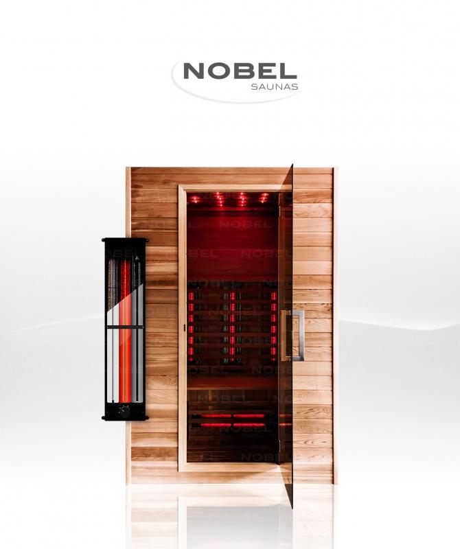 Wij hebben eindelijk een nobel sauna